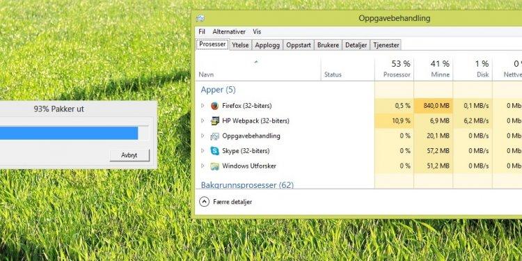 Print Screen of HP Webpack