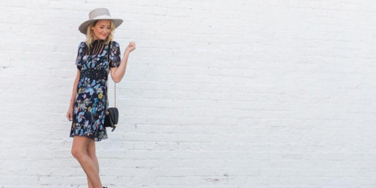 Anthropologie-floral-dress