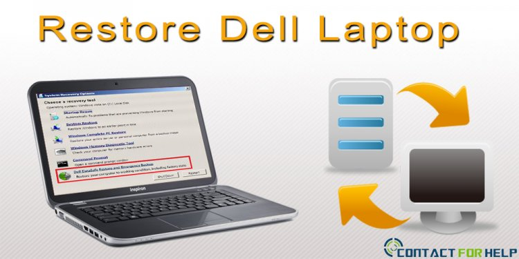 How to Restore a Dell Laptop