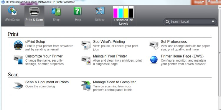 HP 6510 Printer Assistant