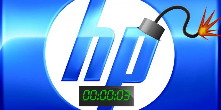 HP detonates its timebomb: