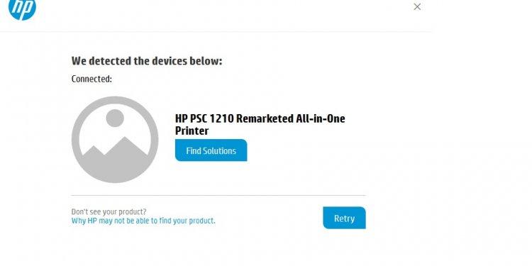 HP Support Software Glitch