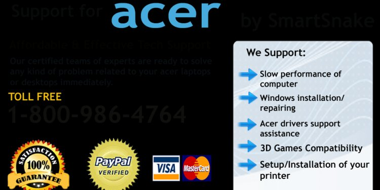 Acer Aspire customer Service number