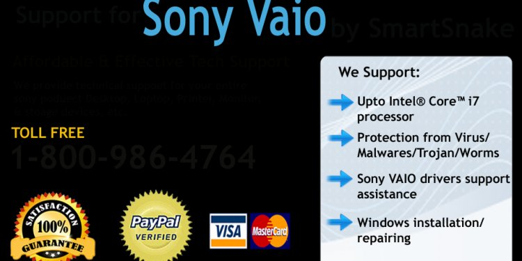Sony Vaio Technical Support