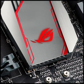 Close up of ASUS Z170
