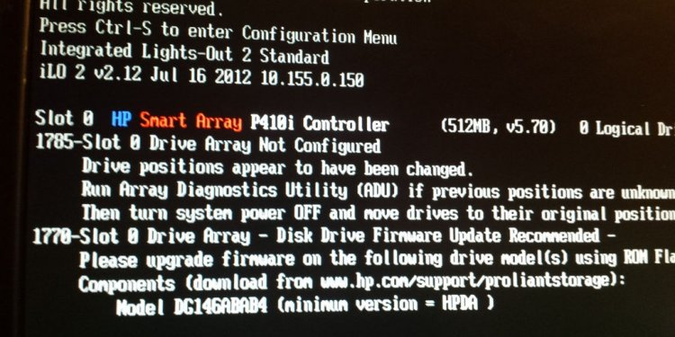 HP Support BIOS Update