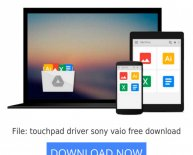 Touchpad Driver Sony VAIO